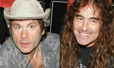 iron maiden steve harris bruce dickinson