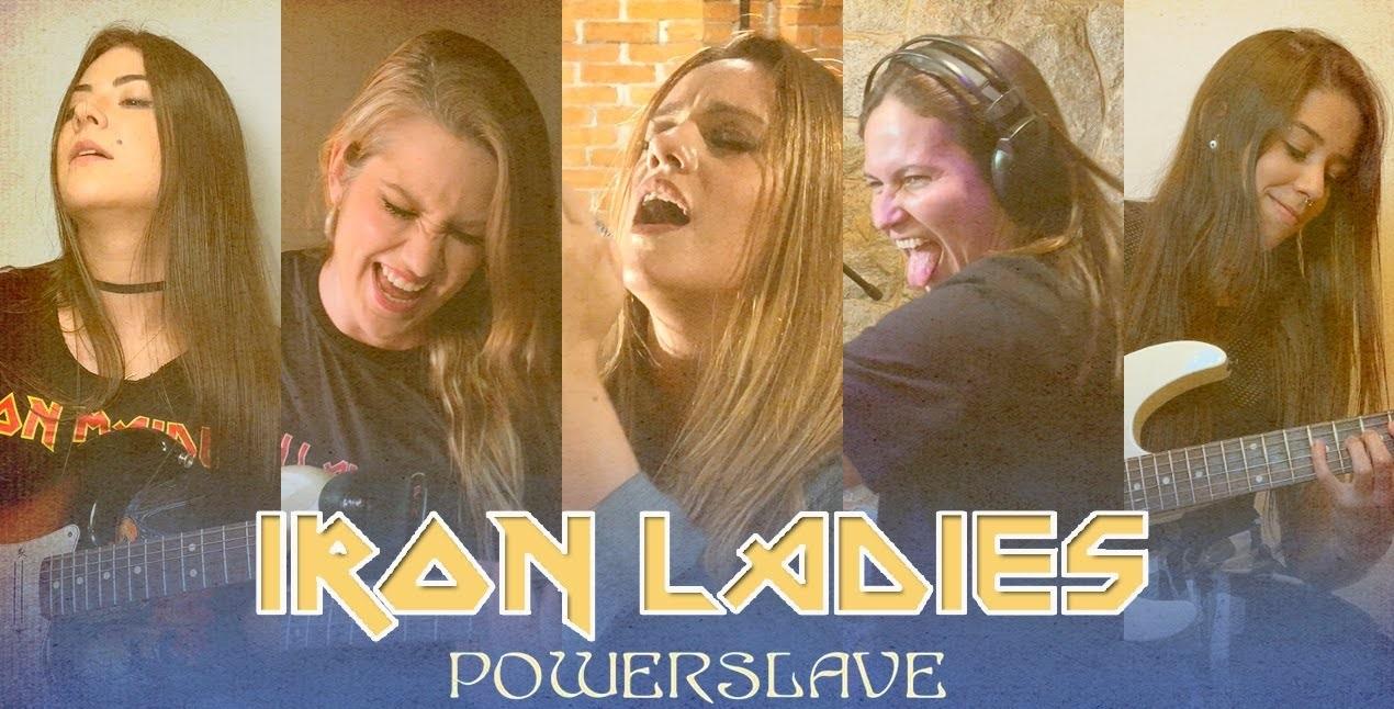 Iron Ladies maiden powerslave