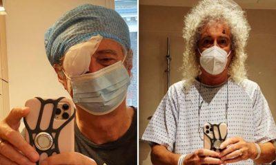 brian may cirugía ojo