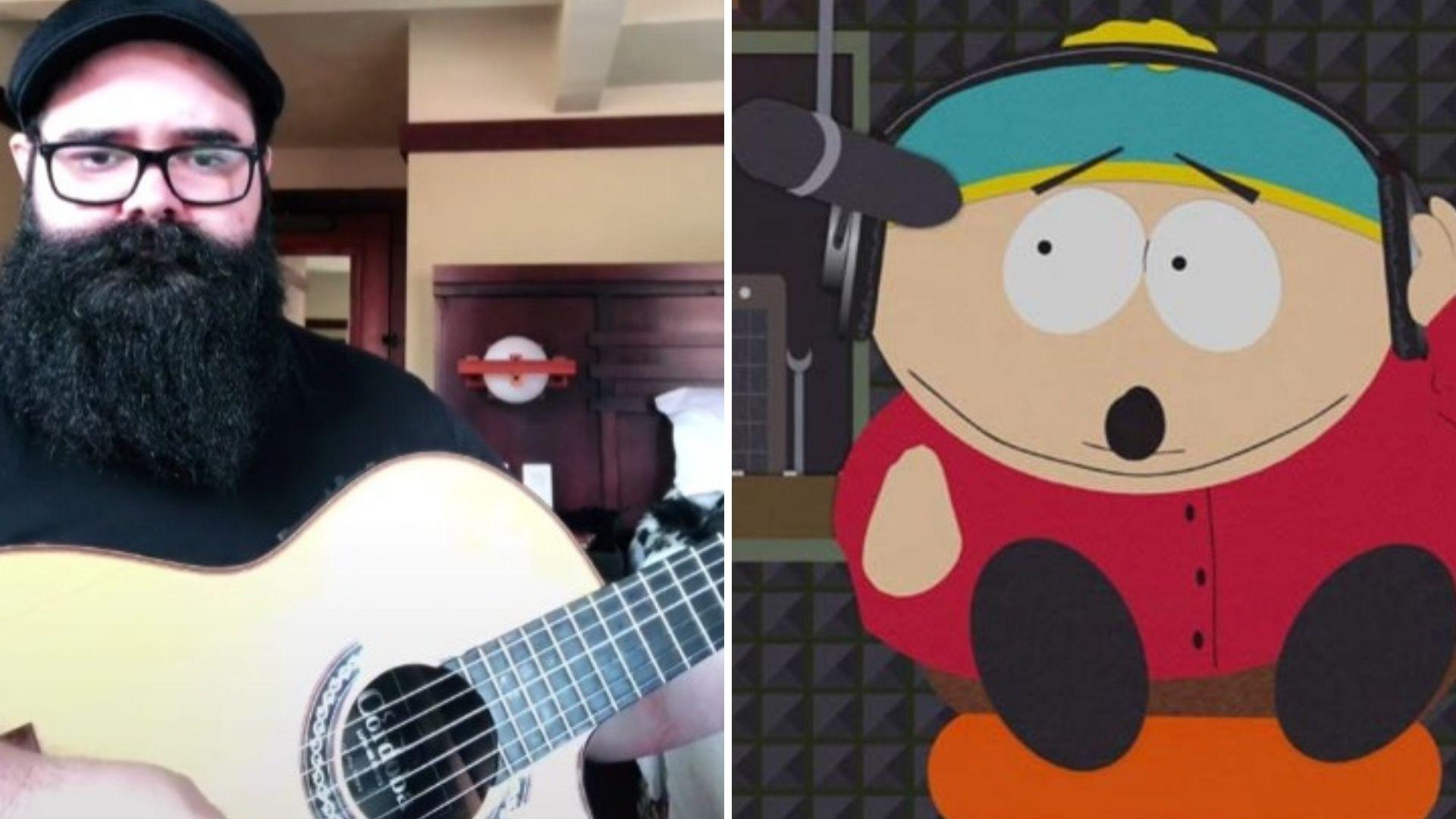 músico rock cartman south park