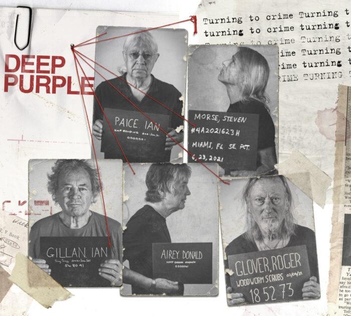 "Deep Purple revela la portada de su nuevo disco, ""Turning To Crime"""